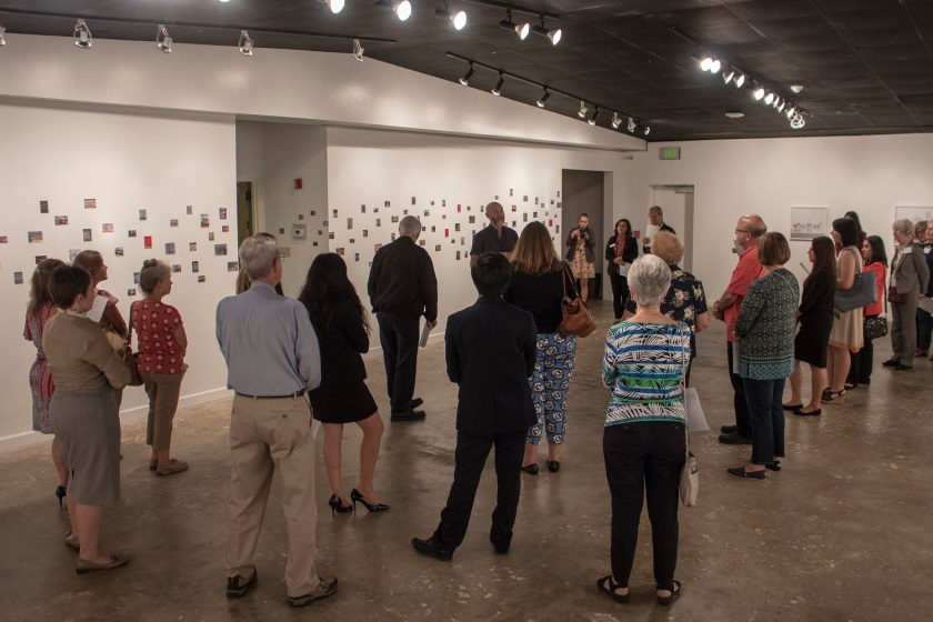 SHSU, heART of Huntsville, LEAP Center, LEAP Ambassadors,, Gaddis Geeslin Gallery