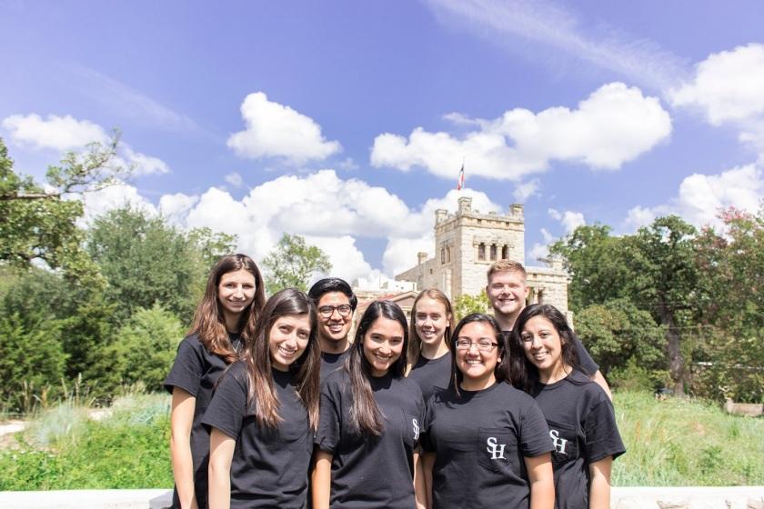 SHSU, LEAP Ambassadors, LEAP Center, Elisabet Ney Museum, Austin TX