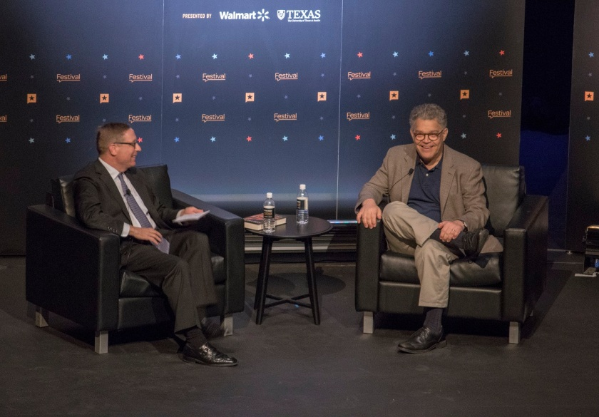 LEAP Ambassadors, LEAP Center, SHSU, Austin, Texas Tribune Festival, Al Franken, Evan Smith