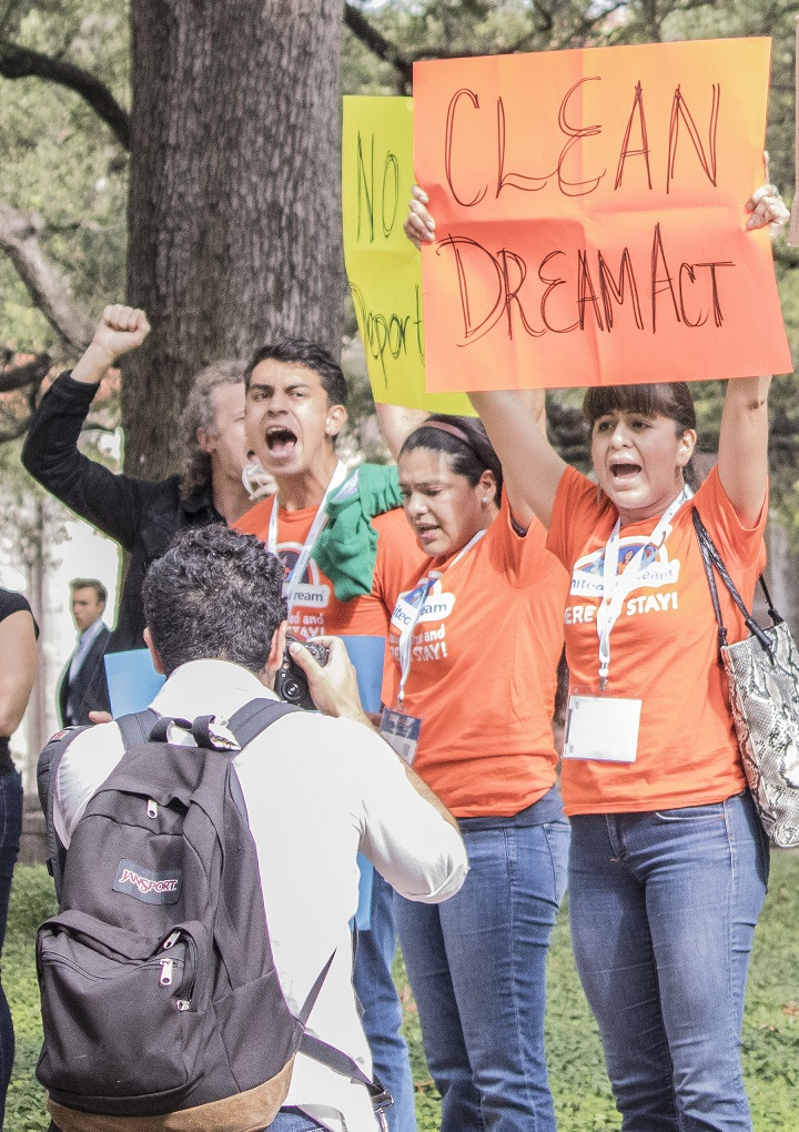 SHSU, LEAP Ambassadors, LEAP Center, Texas Tribune Festival, John Cornyn, Ted Cruz, protests