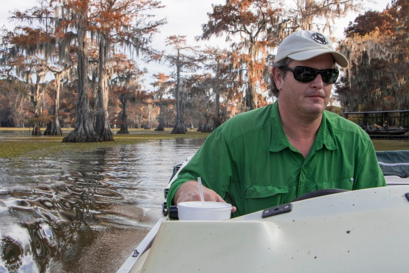 SHSU, LEAP Center, LEAP Ambassadors, Caddo Lake, Aaron, Mystique Tours