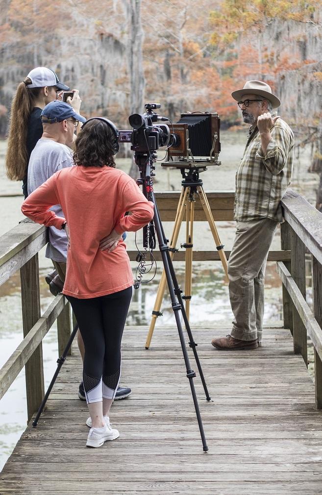 SHSU, LEAP Center, LEAP Ambassadors, Caddo Lake, Mark Burns, 8 X 10 Camera
