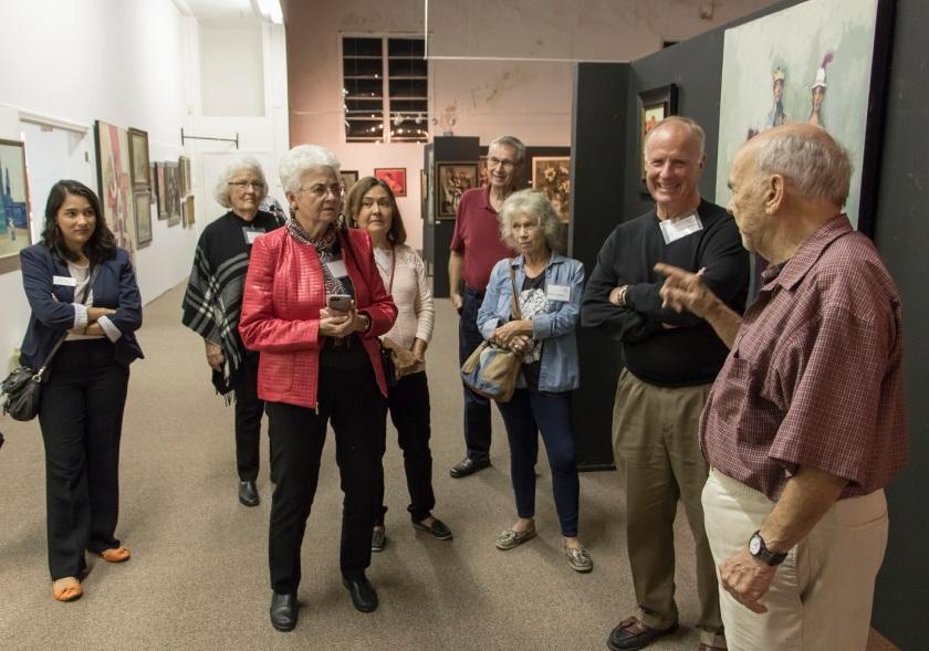 SHSU, LEAP Center, LEAP Ambassadors, heART of Huntsville, Adickes Foundation, David Adickes