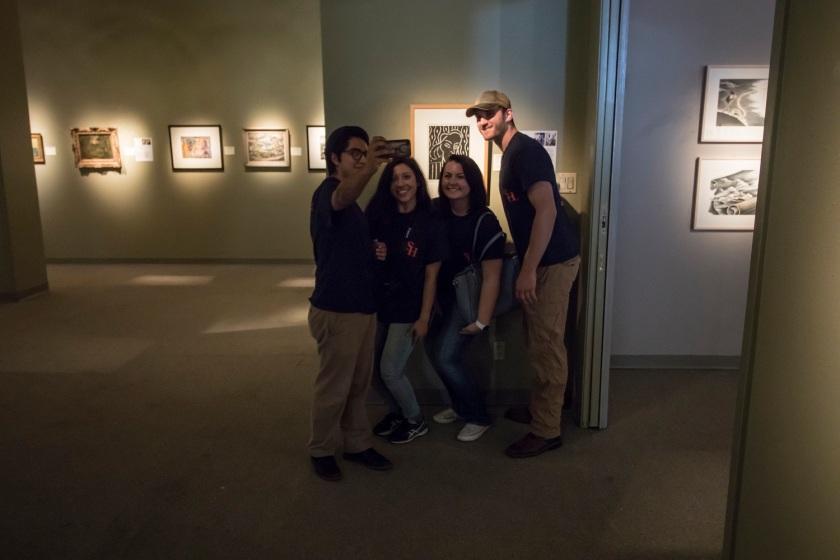 SHSU, LEAP Ambassadors, LEAP Center, Marshall TX, Michelson Museum of Art, Henri Matisse