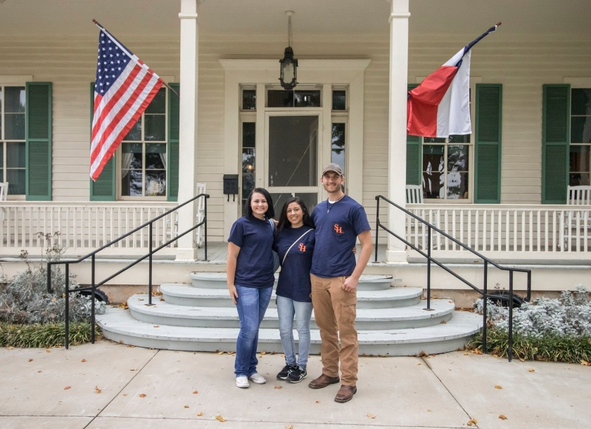 SHSU, LEAP Center, LEAP Ambassadors, Starr Historical Home, Marshall TX