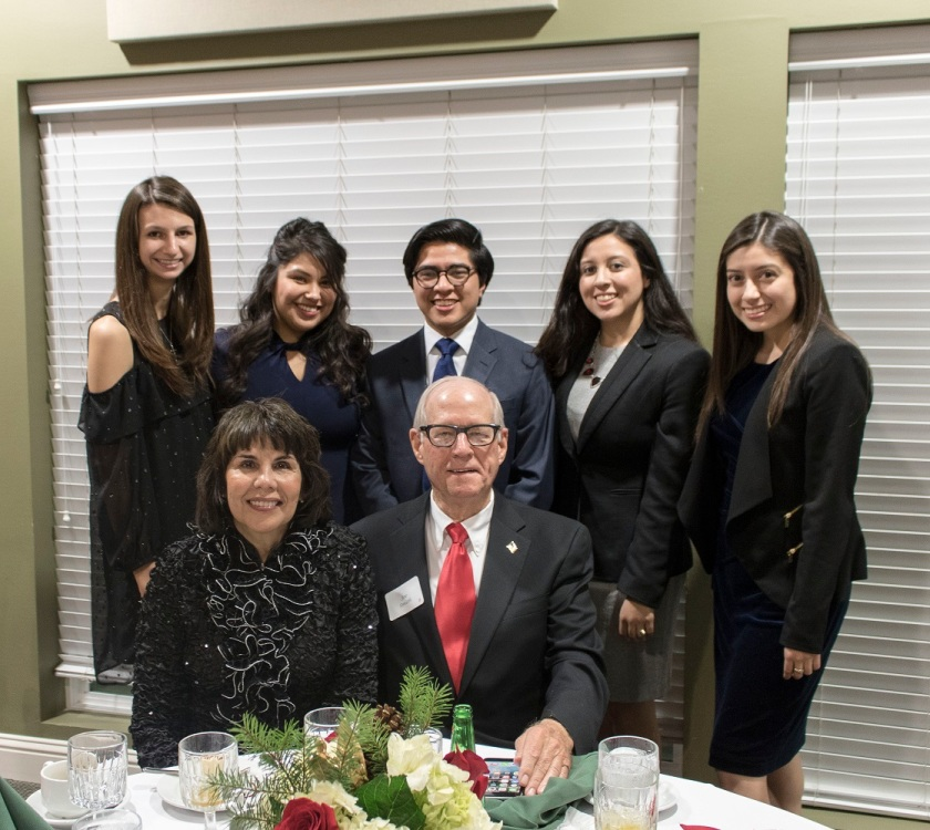 SHSU, LEAP Ambassadors, LEAP Center, Walker County Republican Women, Christmas Party