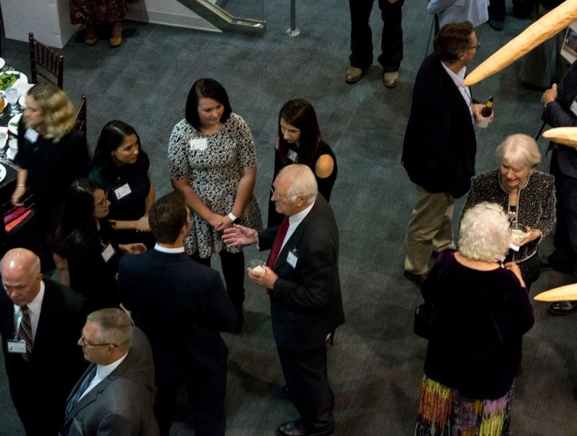 SHSU, LEAP Center, LEAP Ambassadors, Art Department, Michael Henderson, Daryl Howard, Nancy Gaertner, Art Department Gala