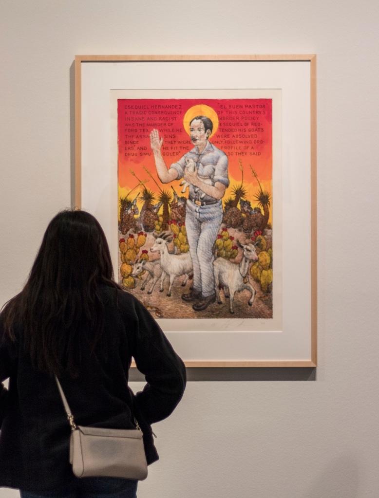 SHSU, LEAP Center, LEAP Ambassadors, Albuquerque Museum of Art and History, Luis Jimenez