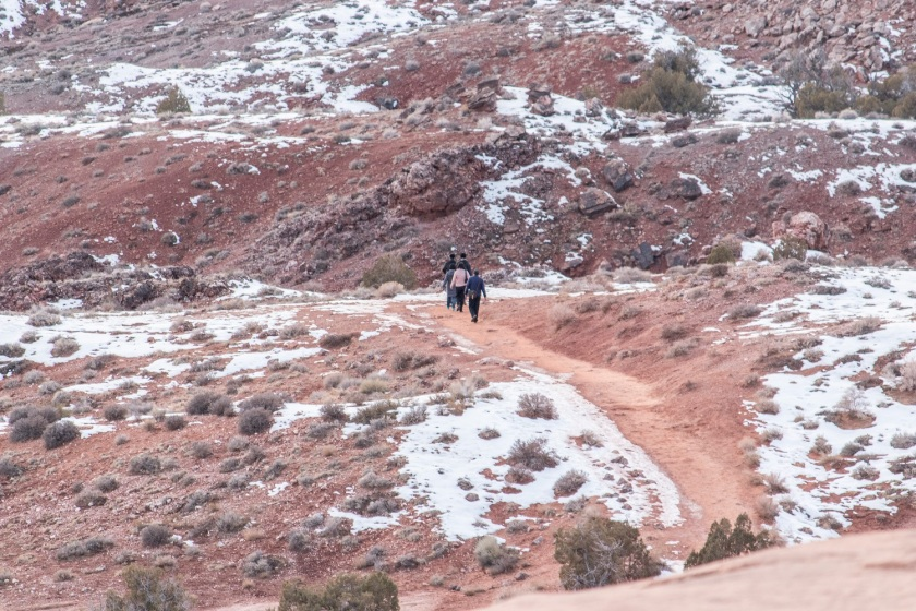 SHSU, LEAP Center, LEAP Ambassadors, Arches National Park, Delicate Arch Trail