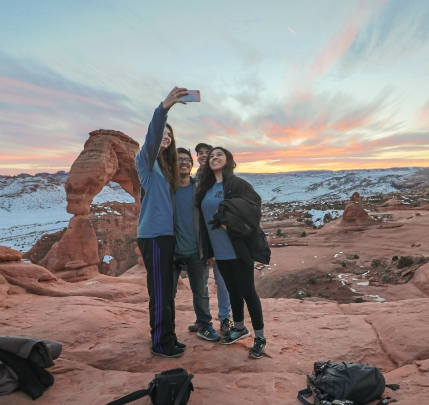 SHSU, LEAP Center, LEAP Ambassadors, Arches National Park, Delicate Arch