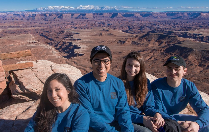SHSU, LEAP Center, LEAP Ambassadors, Canyonlands National Park, Mesa Arch