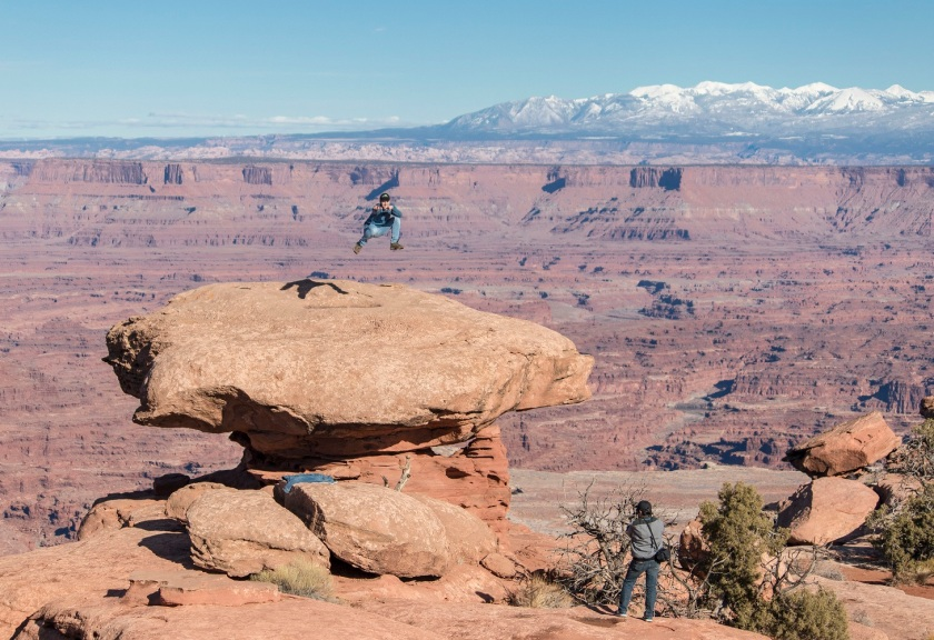 SHSU, LEAP Center, LEAP Ambassadors, Canyonlands National Park, Ryan Brim