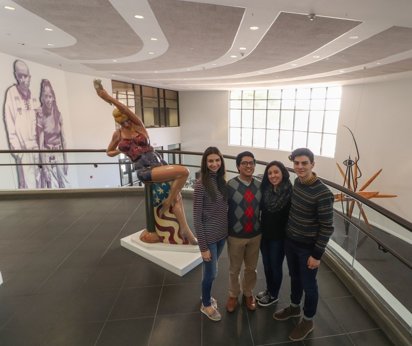 SHSU, LEAP Center, LEAP Ambassadors, El Paso Museum of Art, Luis Jimenez