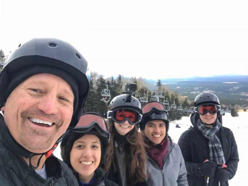 SHSU, LEAP Center, LEAP Ambassadors, Flagstaff, Snowbowl, Skiing
