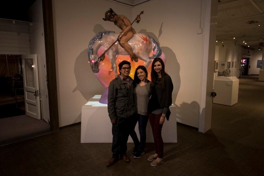 SHSU, LEAP Center, LEAP Ambassadors, Roswell Museum of Art, Luis Jimenez