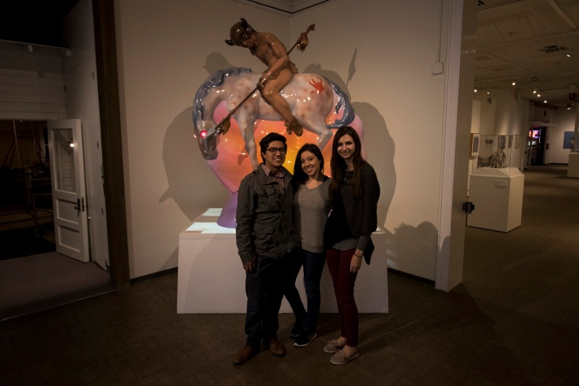SHSU, LEAP Center, LEAP Ambassadors, Roswell Museum of Art, Luis Jimenez