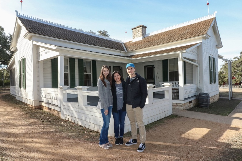 SHSU, LEAP Center, LEAP Ambassadors, Lyndon Johnson Boyhood Home, Western Travel
