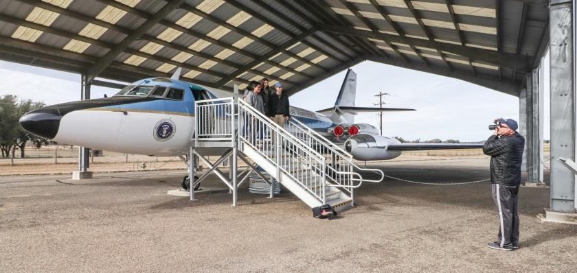 SHSU, LEAP Center, LEAP Ambassadors, Lyndon Johnson Western White House, Air Force One Half