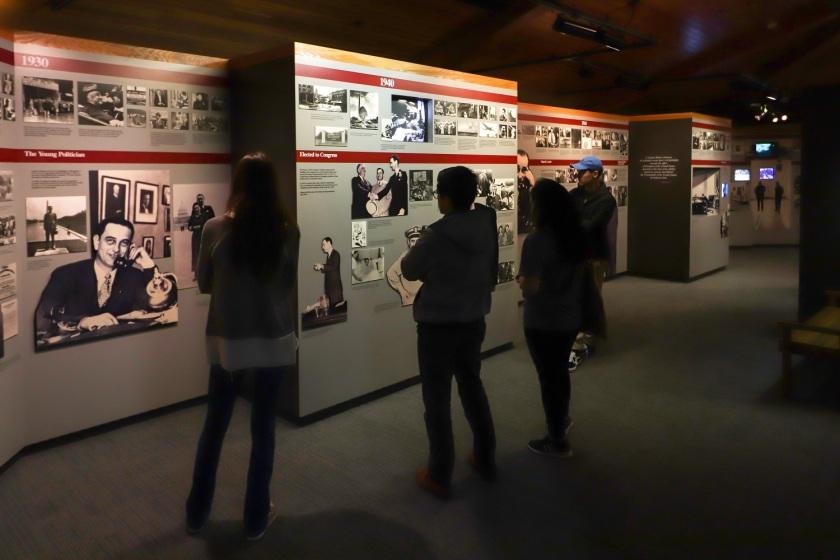 SHSU, LEAP Center, LEAP Ambassadors, Lyndon Johnson Boyhood Home, Western Travel