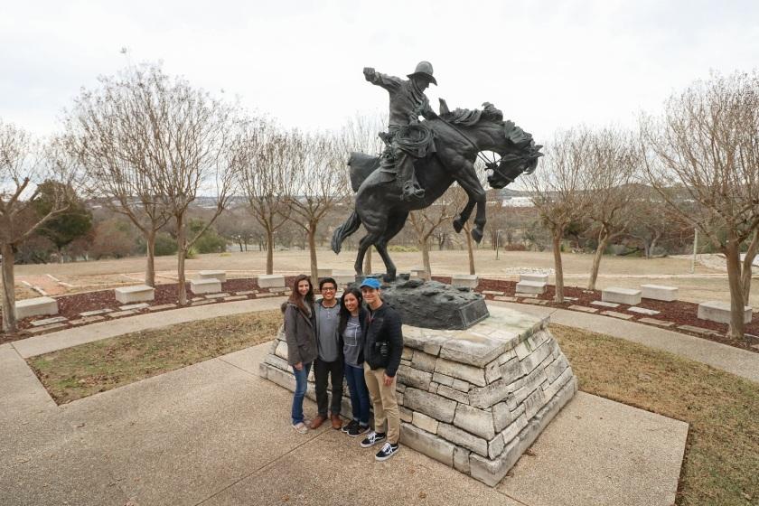 SHSU, LEAP Center, LEAP Ambassadors, Kerrville, Museum of Western Art, Fred Fellows