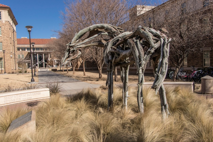 SHSU, LEAP Center, LEAP Ambassadors, Lubbock, Texas Tech University Public Art Collection, Deborah Butterfield