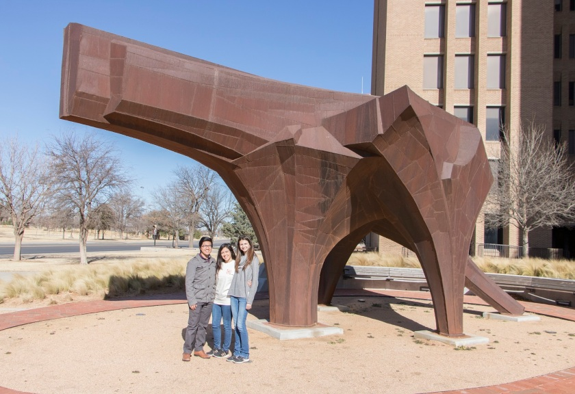 SHSU, LEAP Center, LEAP Ambassadors, Lubbock, Texas Tech University Public Art Collection, Robert Bruno
