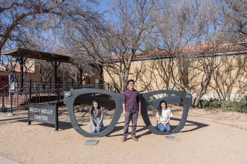 SHSU, LEAP Center, LEAP Ambassadors, Lubbock, Texas Tech University Public Art Collection, Buddy Holly