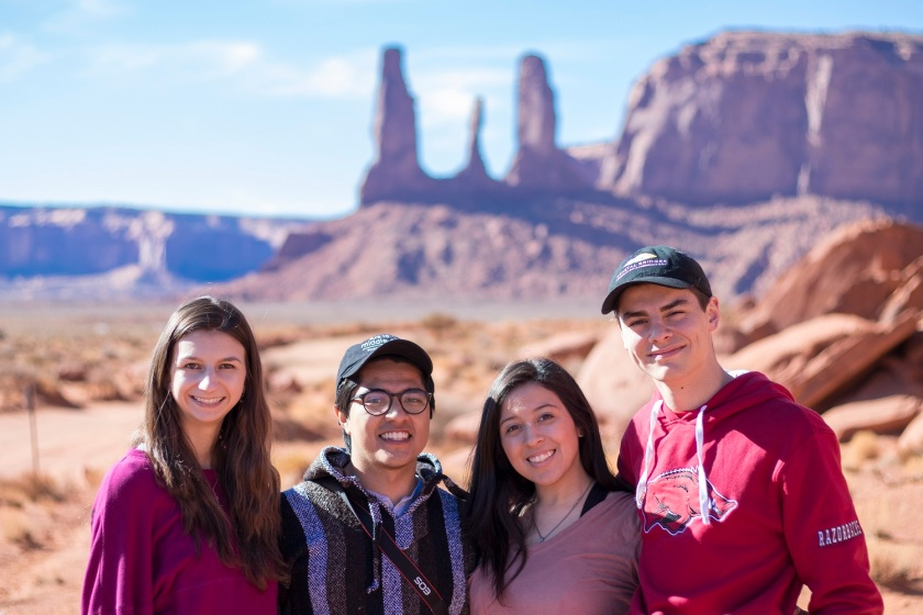 SHSU, LEAP Center, LEAP Ambassadors, Southwest, Monument Valley
