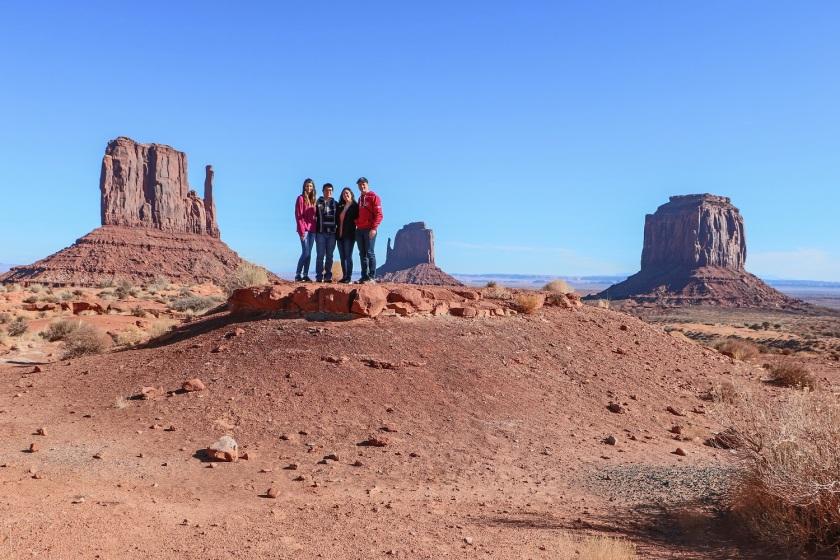 SHSU, LEAP Center, LEAP Ambassadors, Southwest, Monument Valley