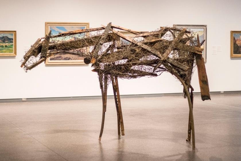 SHSU, LEAP Center, LEAP Ambassadors, Phoenix, Phoenix Art Museum, Deborah Butterfield