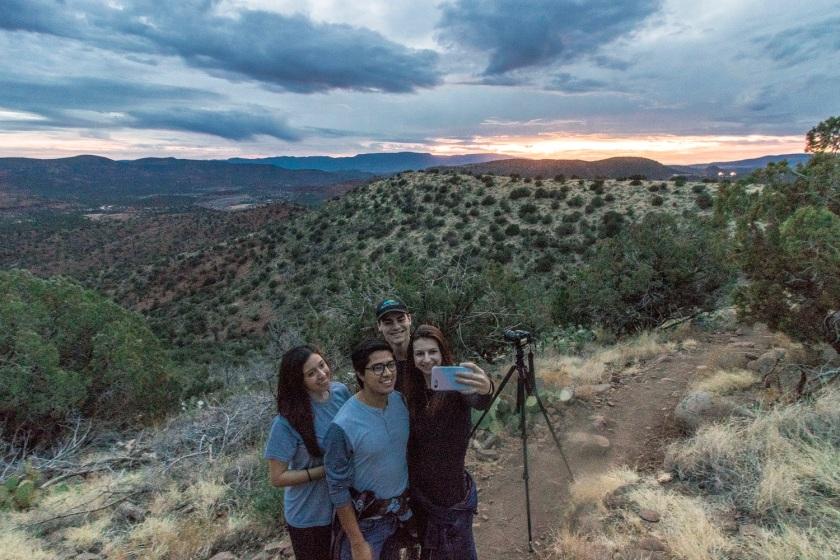 SHSU, LEAP Ambassadors, LEAP Center, Sedona, Hiking