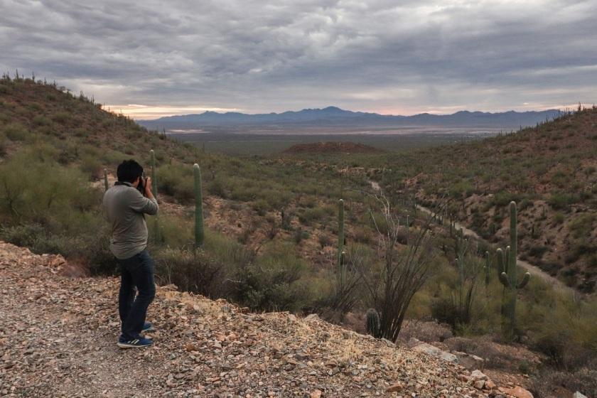 SHSU, LEAP Center, Saguaro National Park, Arizona, Tucson, Brian Aldaco