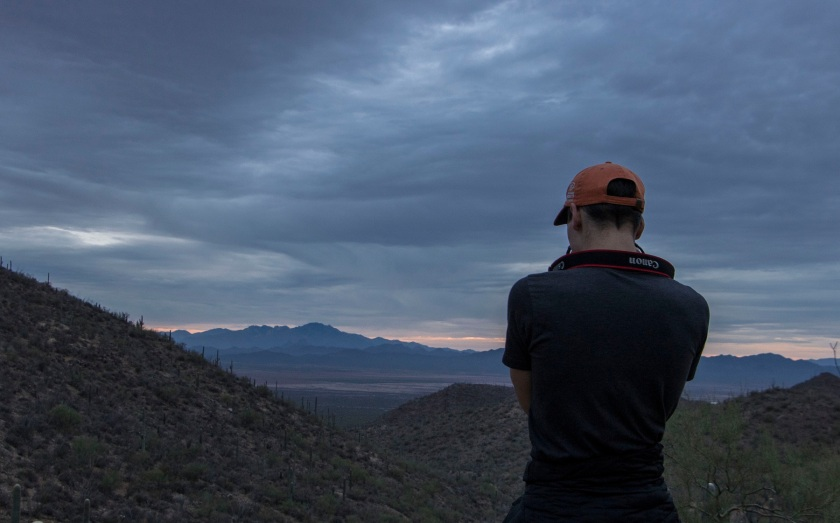 SHSU, LEAP Center, Saguaro National Park, Arizona, Tucson, Ryan Brim
