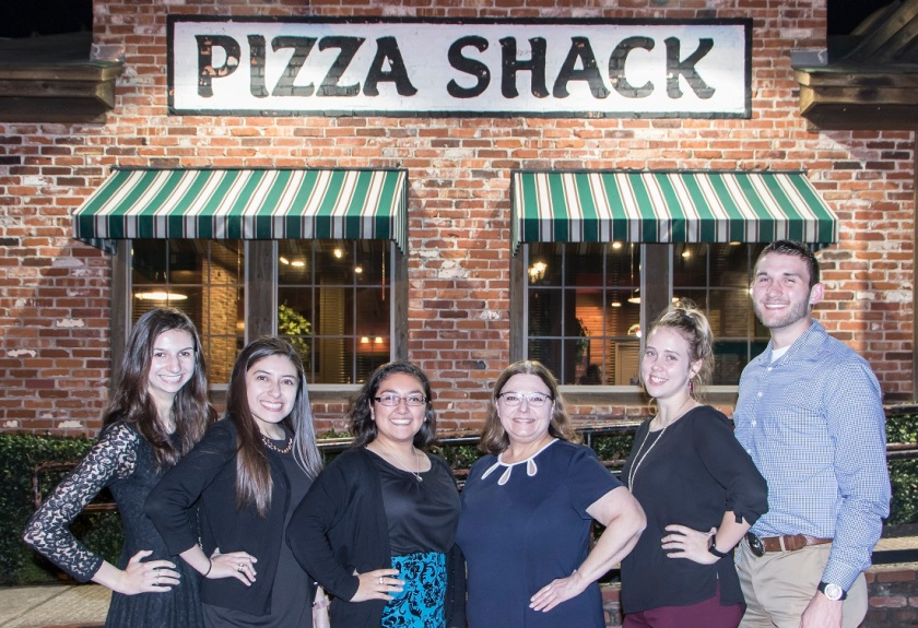 SHSU, LEAP Center, LEAP Ambassadors, Nancy Bocskor, Pizza Shack