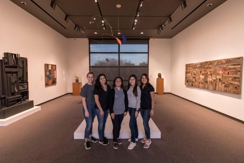 SHSU, LEAP Center, LEAP Ambassadors, Amon Carter Museum, Fort Worth, Calder, Nevelson