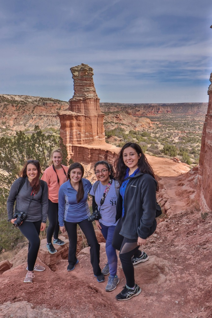 SHSU, LEAP Center, LEAP Ambassadors, Palo Duro Canyon, Lighthouse Trail