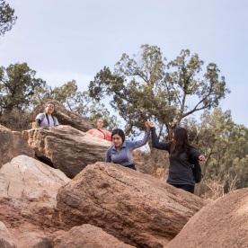 SHSU, LEAP Center, LEAP Ambassadors, Palo Duro Canyon, Lighthouse Trail