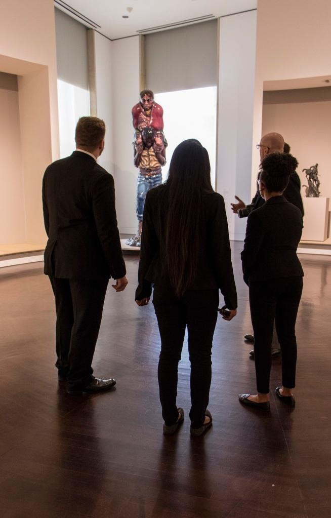 SHSU, LEAP Center, LEAP Ambassadors, ATX, Blanton Museum of Art, Luis Jimenez