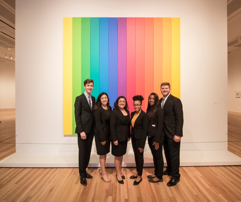 SHSU, LEAP Center, LEAP Ambassadors, ATX, Blanton Museum of Art, Ellsworth Kelly