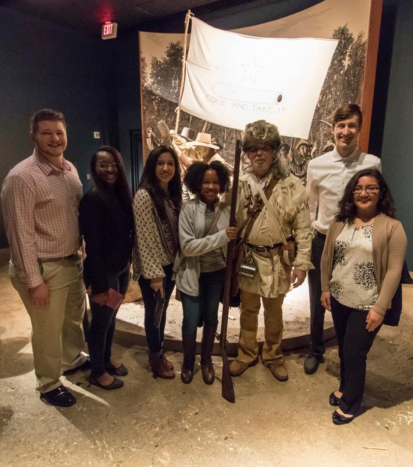 SHSU, LEAP Center, LEAP Ambassadors, Austin, Bob Bullock Museum