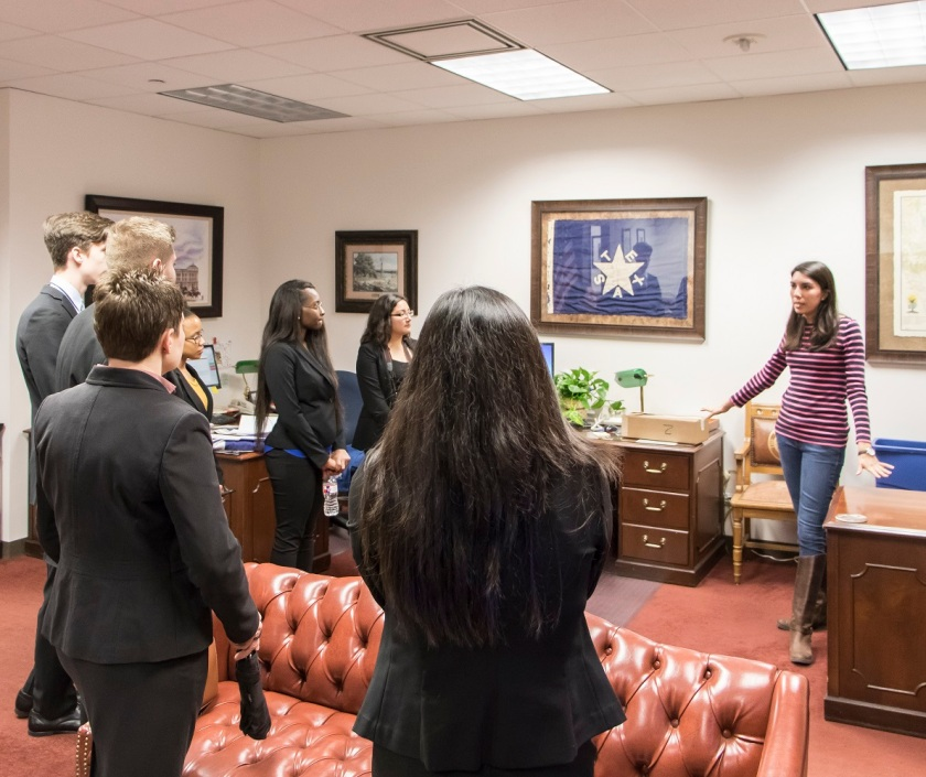 SHSU, LEAP Center, LEAP Ambassadors, ATX, Texas Capitol