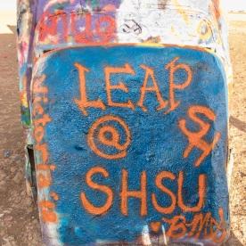 SHSU, LEAP Ambassadors, LEAP, Amarillo, Cadillac Ranch