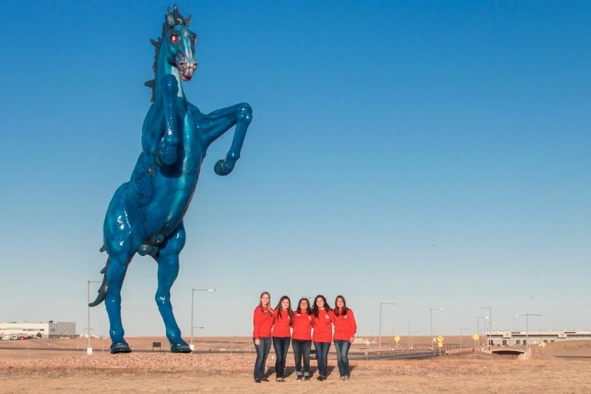 SHSU, LEAP Center, LEAP Ambassadors, Denver CO, Denver Museum of Art, Luis Jimenez