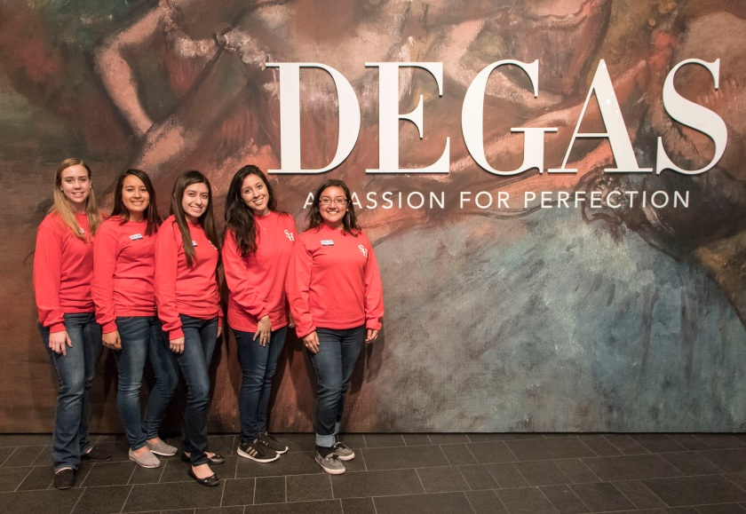 SHSU, LEAP Center, LEAP Ambassadors, Denver CO, Denver Museum of Art, Edgar Degas