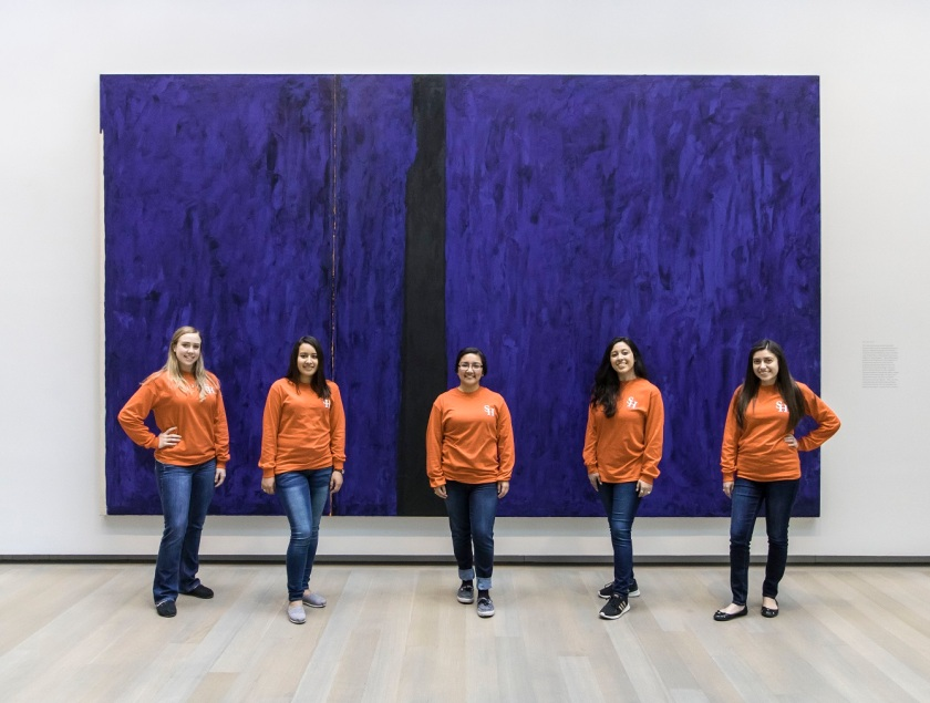 SHSU, LEAP Center, LEAP Ambassadors, Denver CO, Clyfford Still