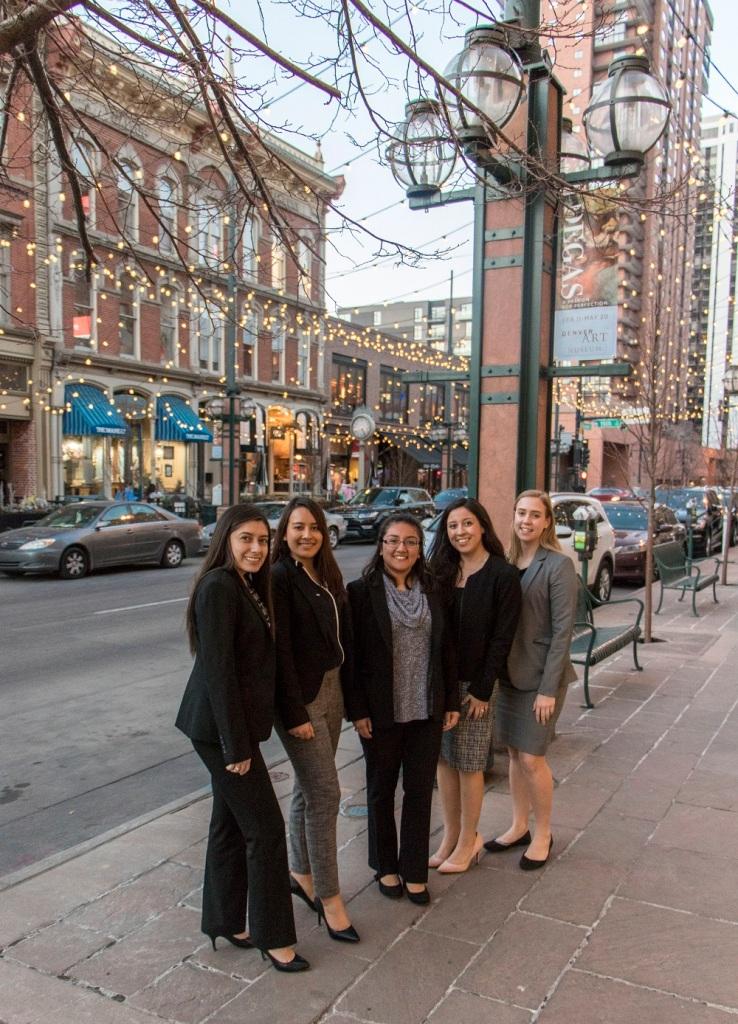 SHSU, LEAP Center, LEAP Ambassadors, ASPA, American Society of Public Administration, Denver CO, 16th Street Mall
