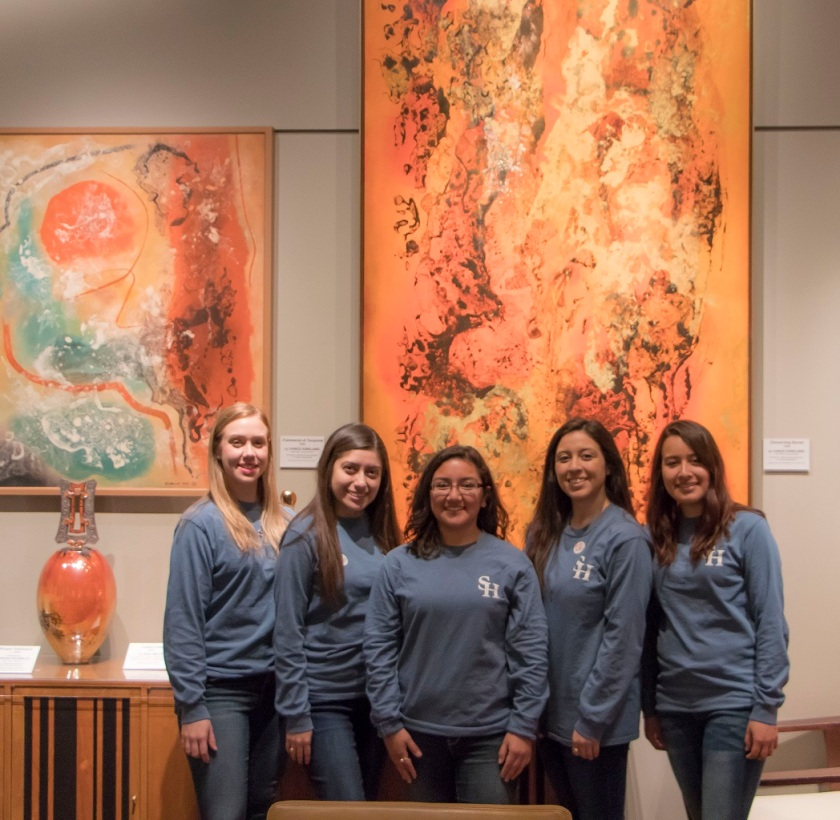 SHSU, LEAP Center, LEAP Ambassadors, Denver CO, Kirkland Museum of Decorative Arts and Design