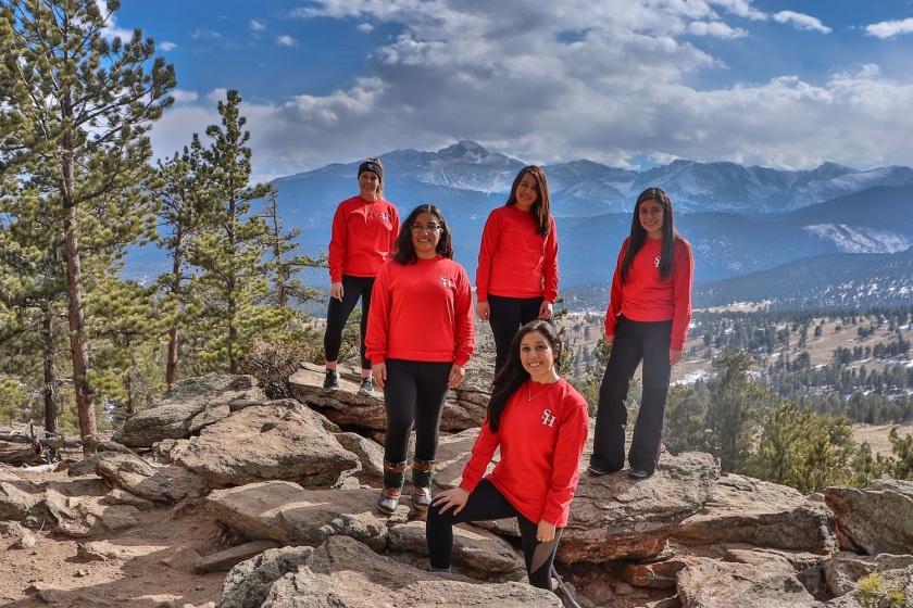 SHSU, LEAP Center, LEAP Ambassadors, Rocky Mountain National Park, Long's Peak