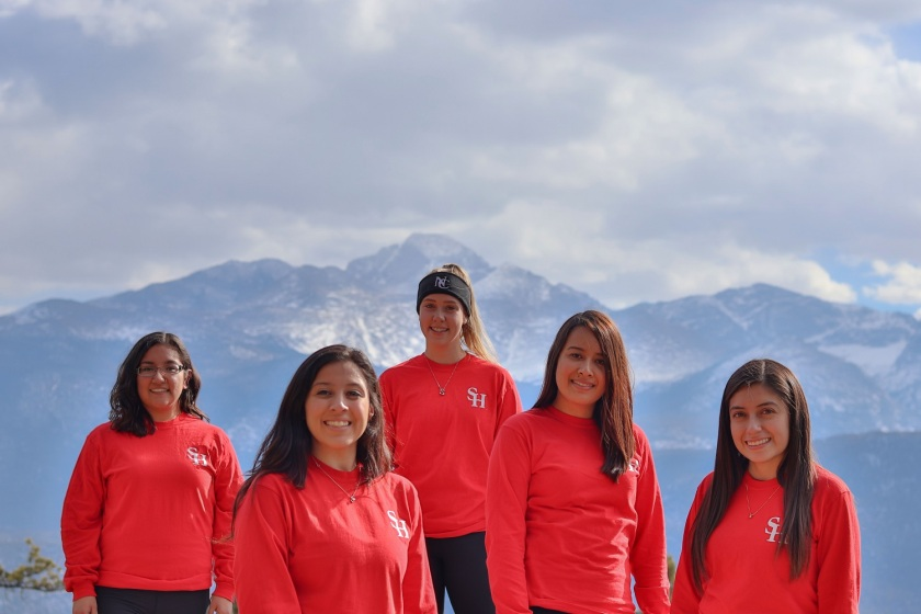 SHSU, LEAP Center, LEAP Ambassadors, Rocky Mountain National Park, Long's Peak