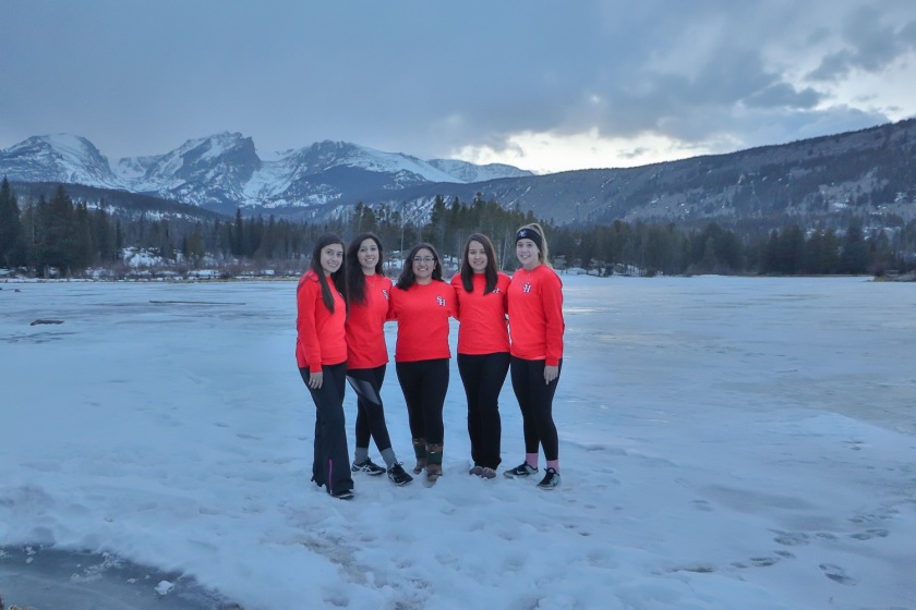 SHSU, LEAP Center, LEAP Ambassadors, Rocky Mountain National Park, Sprague Lake